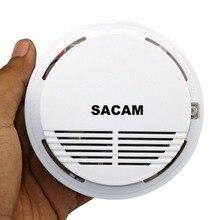 Детектор дыма пожарная сигнализация датчик сигнализации системы безопасности дома беспроводной работает с Sacam WiFi IP камеры SASDIGI72M2WL для кухни