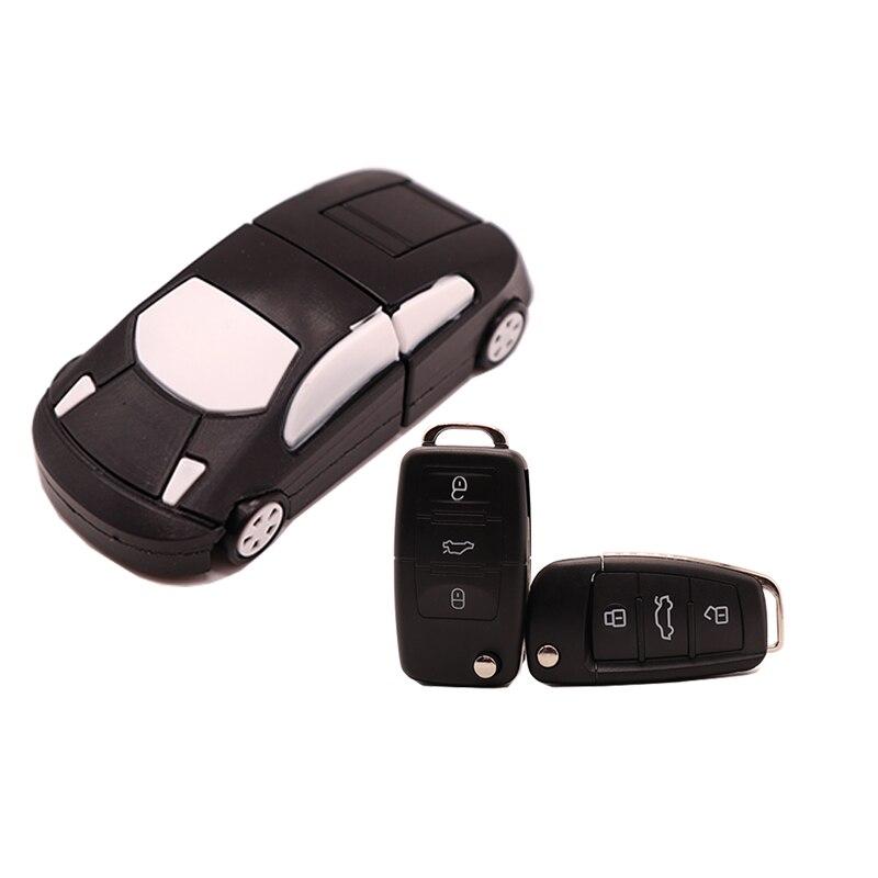 USB2.0 Pen Drive Cartoon Car Usb Flash Drive 4GB 8GB 16GB 32GB 64GB 128GB Car Key Memory Stick Creative Gift Pendrive Cle Usb