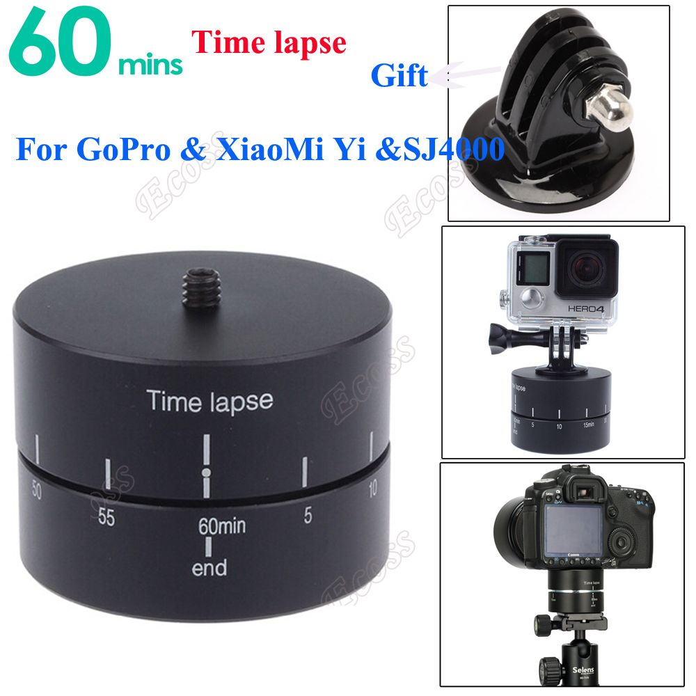 GoPro Time lapse 360 degree Rotating Time lapse Stabilizer