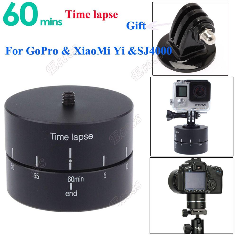 Prix pour GoPro accéléré 360 degrés Tournant accéléré Stabilisateur w/Adaptateur pour GoPro Hero 3 4 XiaoMi Yi SJ4000 SJcam Téléphone accessoires