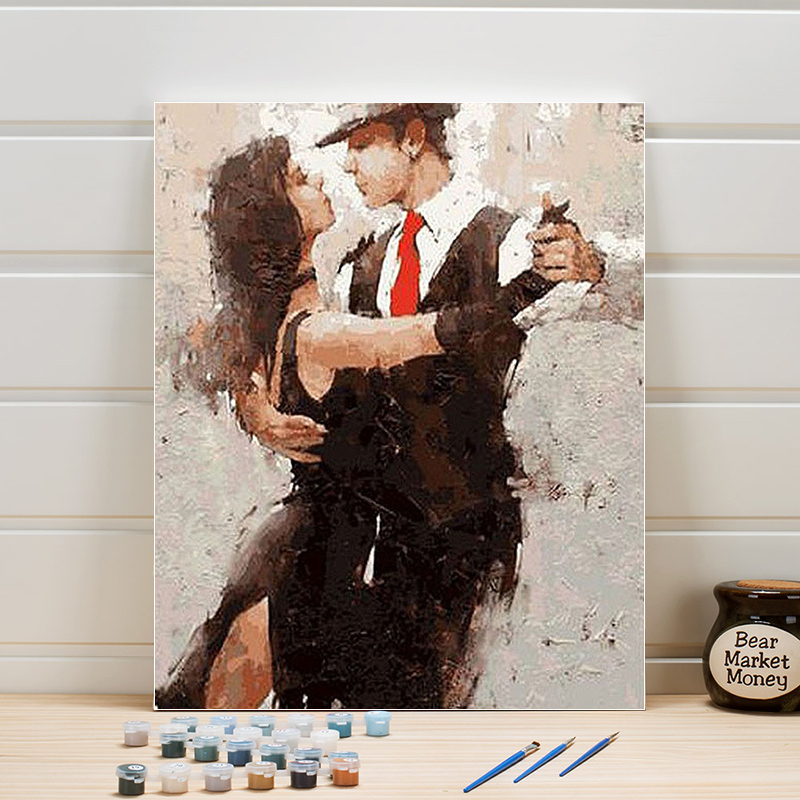 Paint Painting By Numbers Dancer Figure Acrylics On Canvas DIY Pictures For Living Room Wall Decor Home Arts Crafts Adults WomanPaint Painting By Numbers Dancer Figure Acrylics On Canvas DIY Pictures For Living Room Wall Decor Home Arts Crafts Adults Woman