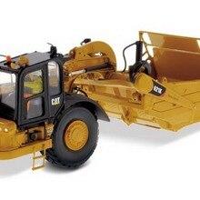 DM 1:50 Масштаб гусеница CAT 621K колесный трактор-скребок инженерное оборудование литая игрушка модель 85920 для сбора, украшения