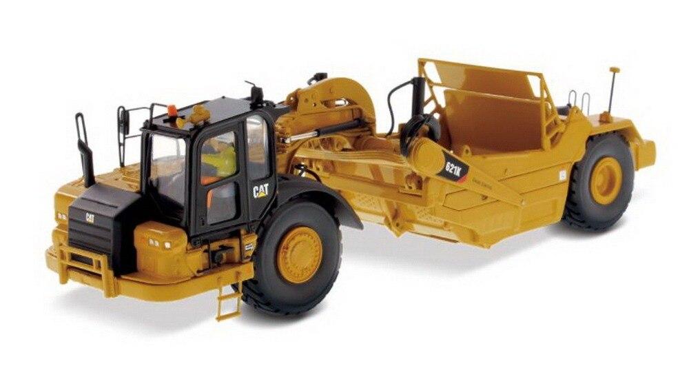 DM 1:50 échelle Caterpillar CAT 621K roue tracteur-grattoir machines d'ingénierie moulé sous pression jouet modèle 85920 pour Collection, décoration