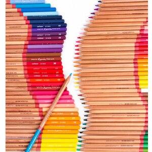 Image 3 - Renoir 48/72/100/120 수채화 물감 및 오일 컬러 연필 예술가 예술 공급 컬러 펜 핸드 페인팅 및 색칠 전문가