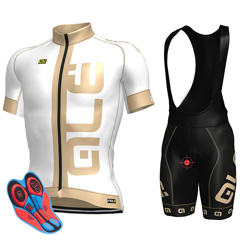 New ALE Variety of Men Pro Cycling Jersey Ciclismo ropa Bike Quick Dry set Bycicle clothing short sleeve summer maillot 9D 2018 pro team ale cycling jersey bicycle clothing short sleeve shirt 9d pad bib shorts set breathable quick dry ropa ciclismo