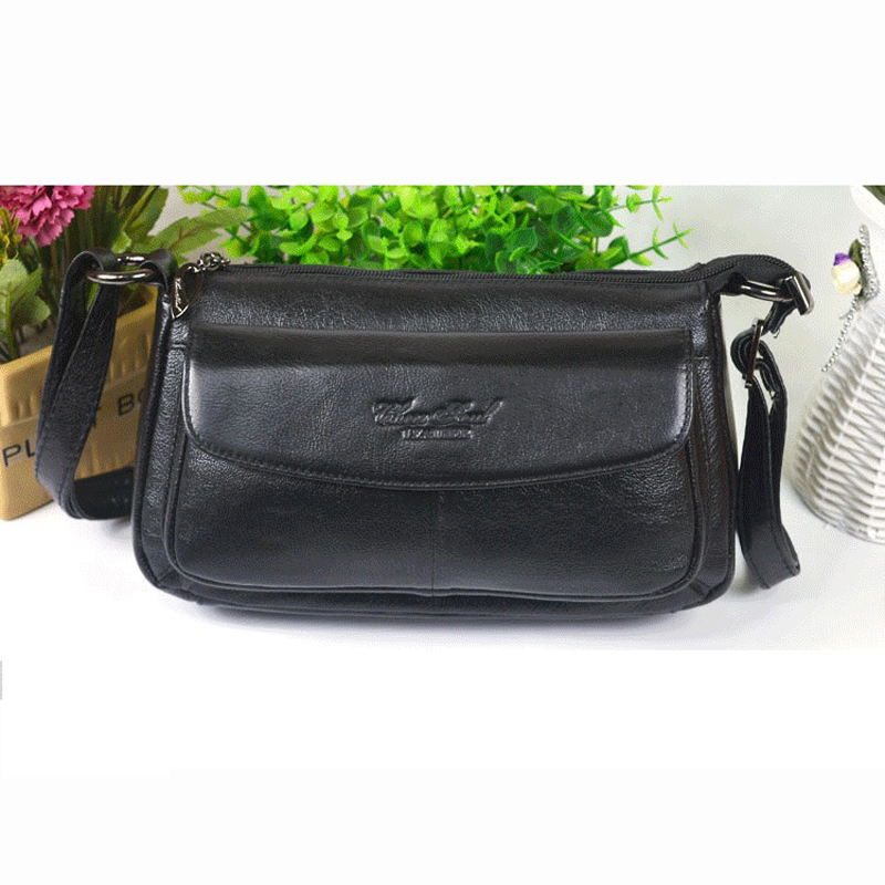 2017 New  Best Sellers  genuine leather women  women leather bag OL stylish  shoulder bags  Messenger bag