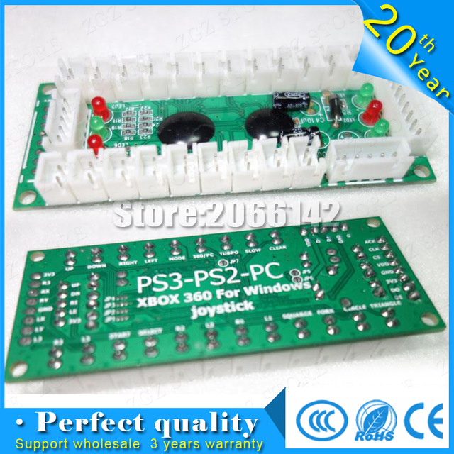 PS2/PS3/PC/ XBOX360 pcb Arcade Joystick USB Arcade Joystick USB Encoder borad To PC Arcade Sanwa Joystick for Arcade DIY Kit смартфон apple iphone 6s plus розовое золото 5 5 32 гб nfc lte wi fi gps 3g mn2y2ru a