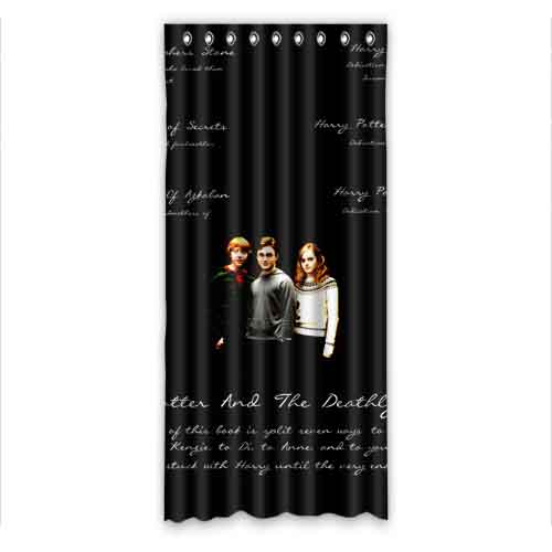 Free Shipping Harry Potter Quotes 50x108 Inch Window Tulle Curtains Voile Sheer Curtain For Bedroom Curtain Wall Curtain Accessariescurtain Frame Aliexpress