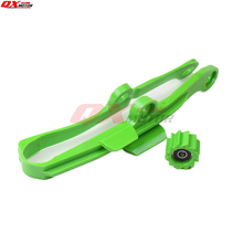 Chain Slider Swingarm Guide Lower Roller For Kawasaki KX250F KX450F KXF250 KXF450 09-16 Dirt Bike Enduro Motocross Supermoto swingarm chain slider with guard guide roller for kxf kx250f kx450f 09 16 dirt bike off road motocross motorcycle free shipping