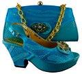 Высокое Качество Дамы Соответствующие Насосы Обувь И Сумка Набор Мода Африканские Сандалии Обувь С Сумочкой Наборы Для Партии B8010