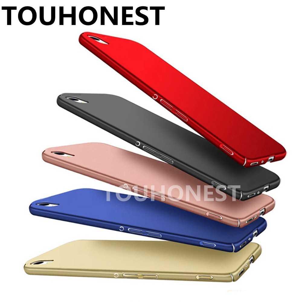 Siêu Mỏng Ốp Lưng Nhựa Cứng Nhám Giành Cho Sony Xperia C6 Z5 Nhỏ Gọn Cao Cấp Plus X XZ1 XZ Xa 1 2 XP XA1 XA2 PC Silm Full Cover