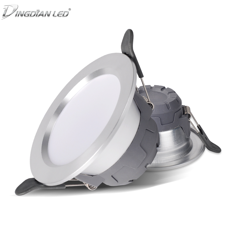 5W LED Downlight  AC220V Led Recessed Lighting Fixtures Light Covers for Ceiling Lights