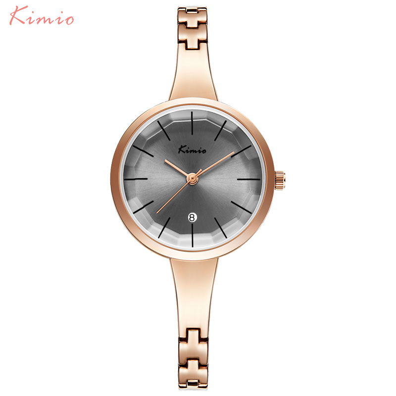Fashion Women Watches Ladies Quartz Watch KIMIO Luxury Brand Women's Bracelet Watch Female Steel Wristwatches Relogio Feminino