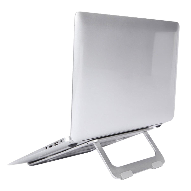 Laptop Desk Dual Cooling Fan Notebook Computer Stand Foldable USB Rack Holder