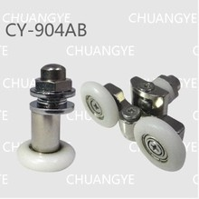4pair shower door roller Suitable for the glass hole diameter of 8 mm - 10 mm купить недорого в Москве