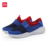 WeiDeng 2018 Ultra Light Mens Causal Meshed Breathable Sports Shoes Men Jogging Shoes for Adualts Zapatos Corrientes De Verano