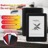"CLAITE 6"" E book reader Built in Light 6 Inch 4GB Ebook Reader E ink Ereader 4G/8G/16G  800 x 600  Resolution|eBook Reader| |  -"