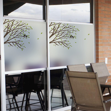 Free Custom Stained Static Cling Window Film Frosted Opaque Privacy Glass Sticker Home Decor Digital print BLT142 Silent Spring charles epting silent film quarterly issue 5
