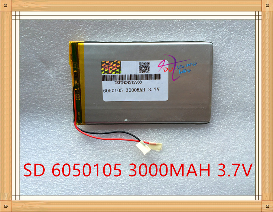 Liter degree energy 3000mAh 3.7V high capacity polymer lithium battery 6050105 tablet pc mobile power LED factory wholesale model 855590 high capacity lithium polymer battery 4500mah 3 7v