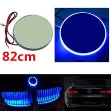 Auto Blu LED Dell'emblema del Distintivo Della Luce Autoadesivo Auto Decorazione Della Lampada Copertura Della Lampada Della Luce Per BMW 3 5 7 Serie X3 x5 X6 Z4 Accessori Auto