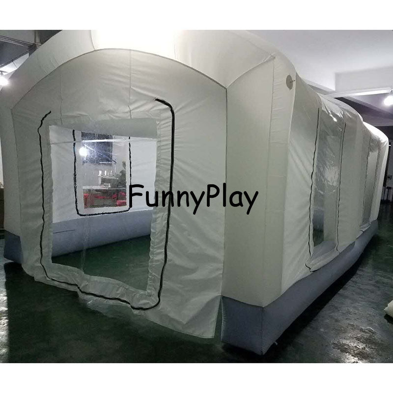 Portable Paint Booths,Used Spray Booth For sale,Puzzle Inflatable Spray Booth For Car Painting,outdoor inflatable spray tent