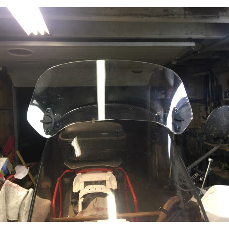 Extension Rise Windscreen For BMW C600 C650 Sport C650GT C400X C400GT C 600 650 400 GT X Windshield Screen Spoiler