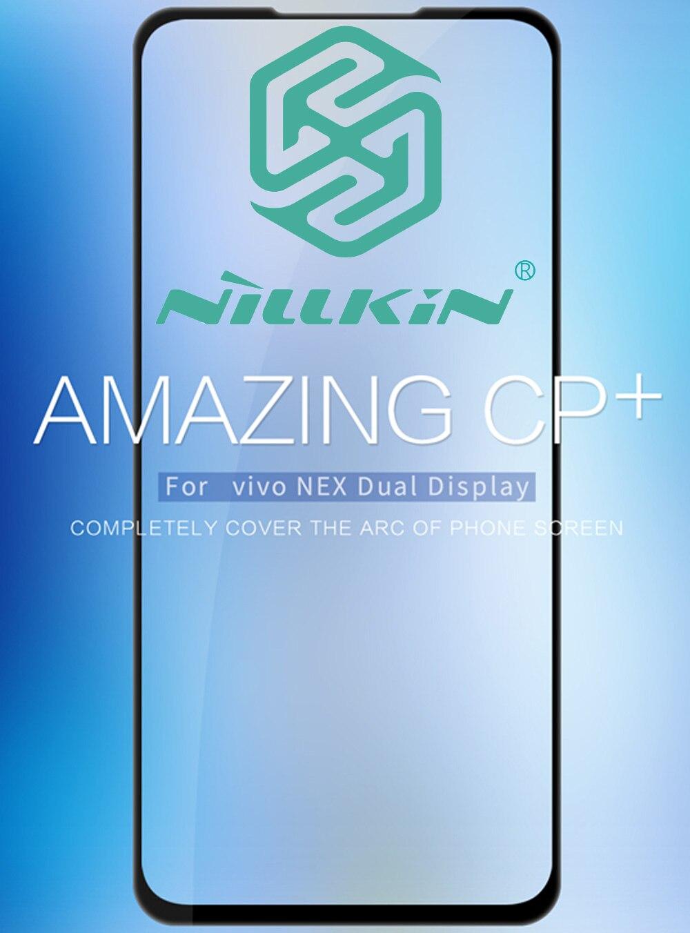 Nillkin CP + vidrio templado para vivo la próxima pantalla Dual 1813 funda protectora oleophobic de panel completo de pegamento