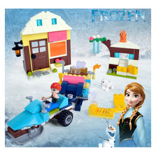 Lepin new brand  Anna & Kristoff's Sleigh Adventure  Princess Series Building Block Minifigure Girls Toy Compatible With Legoed