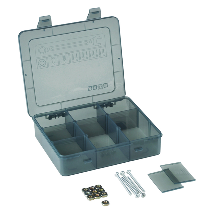 1pc New Hand Tool Transport 9 Girds Storage Arrange Plastic Tray Case Detachable Compartments Lure BoxEnclosures