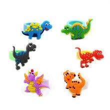 10 шт мультфильм дети Динозавр бусины Кольцо дети палец кольцо День рождения подарок сувениры Декор