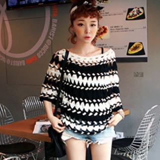 Us 1799 Handmade Crochet Sweaters 2018 Women Novelty Ethnic Hollow Out Batwing Woolen Sweater Smock Pullover Blusas Femininas 2076 In Pullovers