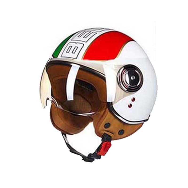 ECE Classic-vlag BEON B-110B motorcross-halfvlak Helm, motorfiets - Motoraccessoires en onderdelen - Foto 5