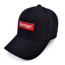 Savage Baseball Cap Embroidery Men Dad Hat Cotton Bone Women Snapback Caps  Hip Hop Sun Fashion d7188f0c30d4