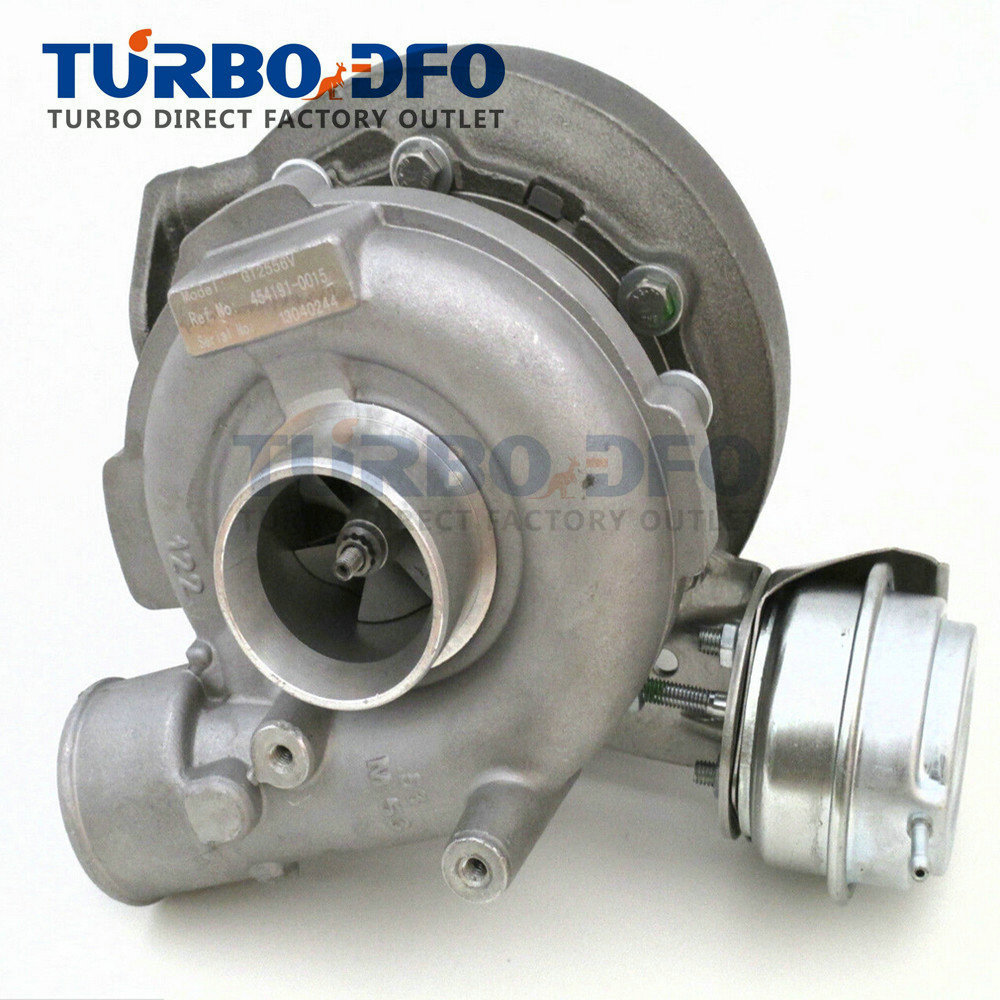 GT2556V turbocharger complete turbo 454191 for BMW 530d 730d E38 E39 M57 D30 184 HP / 193 HP 1998-2005 11652248906 / 11652248907 image