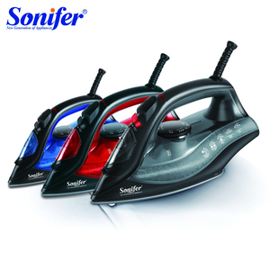 Image 1 - 1800W Household High Quality Electric Steam Irons for Clothes Multifunction Adjustable Ceramic Soleplate Hot Iron Sonifer