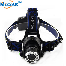ZK30 3800LM Led Headlamp Cree XM-L T6 Waterproof Headlight Zoomable Focus Headlamps Camping Bicycle Climbing FishingHead Light