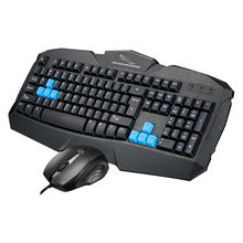 Keyboard Mouse Combo with backlit clavier Gaming Finger board USB Wired Full Key Gaming Mouse  Mice kit for Computer PC Desktop