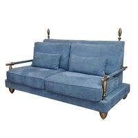 Nouvelle réplique nordique en cuir canapés salon meubles canapé