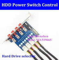Hard Drive selector sata drive switcher HDD Power Switch Control For Desktop PC computer CD ROM Slot Space IDE 4PIN SATA 15PIN