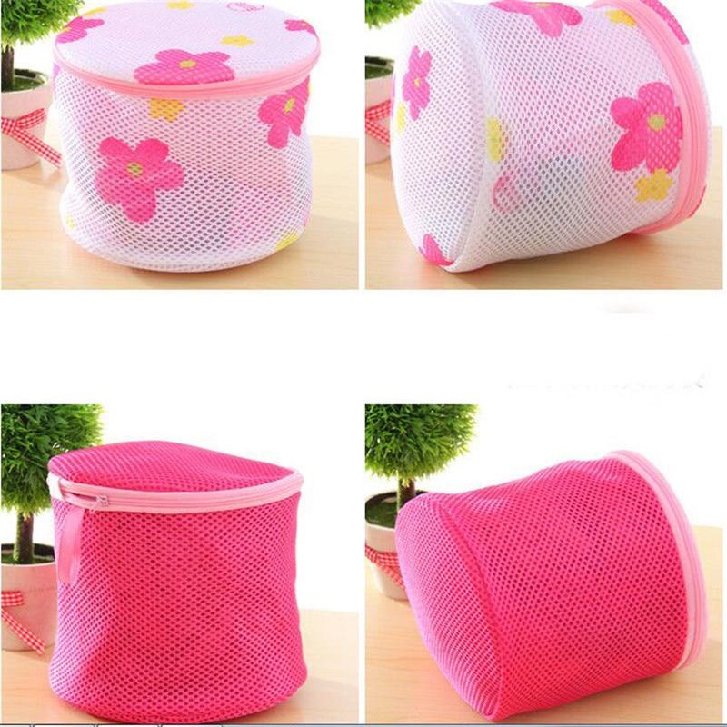Laundry Washing Bags Mesh Net Lingerie Underwear Bra Clothes Socks Zip Wash Bag Baskets