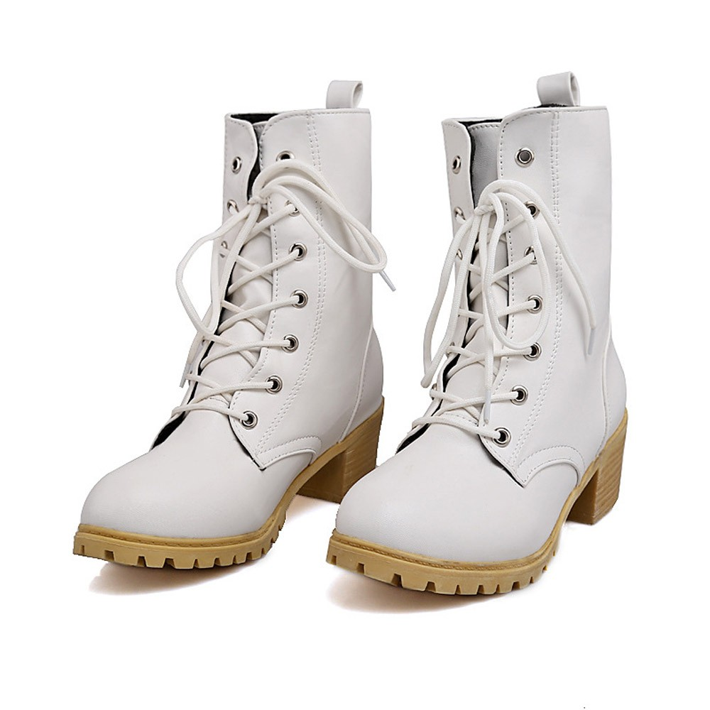Chaussures Talons Taille Courte forme Botte Boucle Noir 35 Lacent Femmes Pour Dames Plate Cheville 43 khaki Plus blanc La Femme Casual Haute Bottes P5FfqTOx