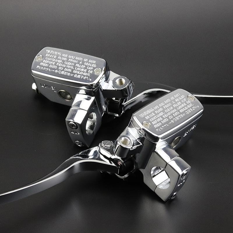 Accessories Cylinder Motorcycle Replacement Parts Handlebar Master Silver 1 pair Chrome Practical Hot Sale 2018