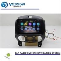 Car Multimedia Navigation System For Mazda 2 2007 2014 CD DVD GPS Player Navi Radio Stereo
