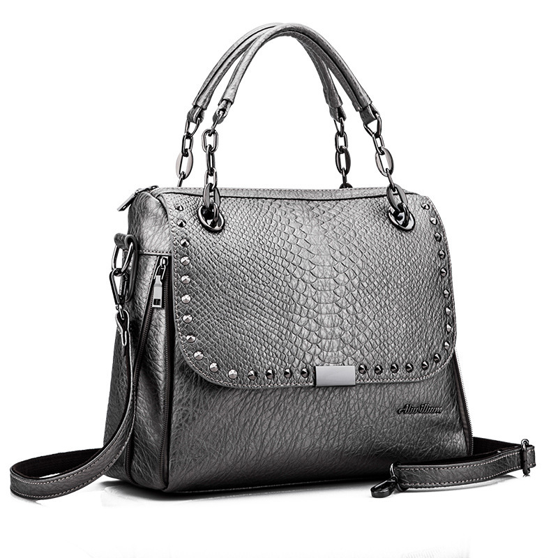 New Designer Bags Famous Brand Women Bags 2016 Luxury Handbags Women Messenger Bags Crocodile Leather Shoulder Bag Bolsos A0262 famous brand luxury handbags 2017 designer women shoulder bags blue messenger bags small box bag clutch evening bag purse bolsos