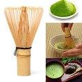Японская церемония бамбуковый 64 матча венчик для пудры зеленый чай Целомудрие кисти инструменты чайные наборы зеленый чайный набор аксесс...
