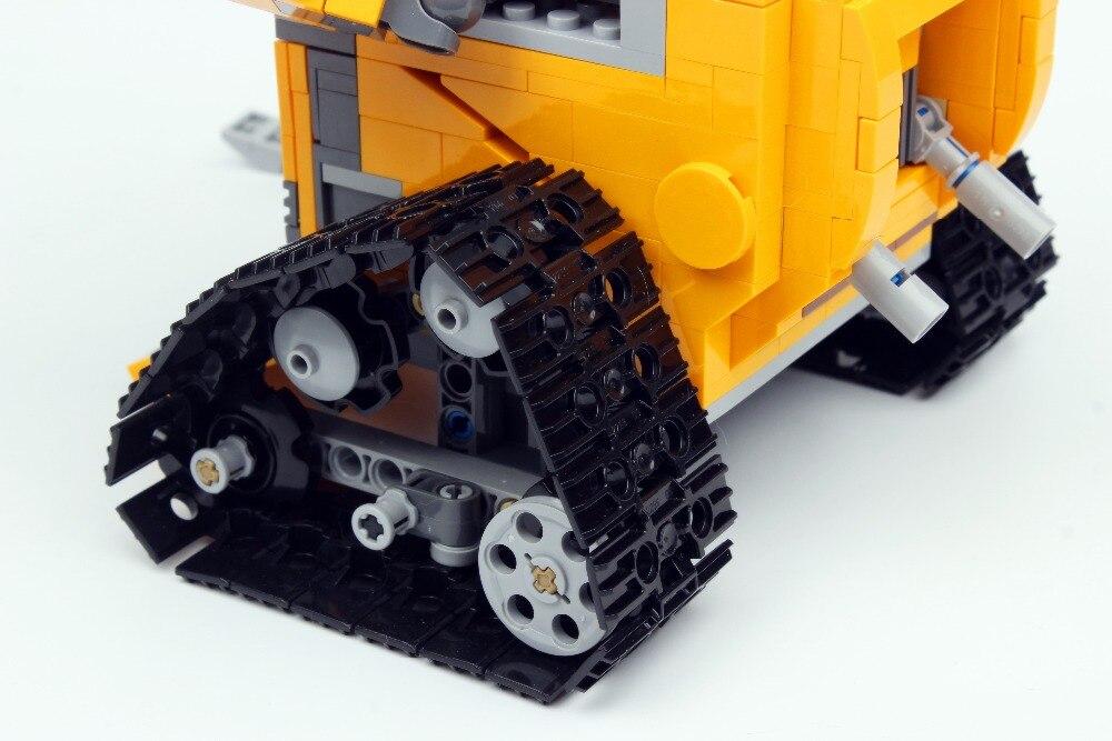 16003 Technic film série idée Robot mur E blocs de construction jouets 687 pièces éducatifs enfants cadeaux Compatible Bela - 6