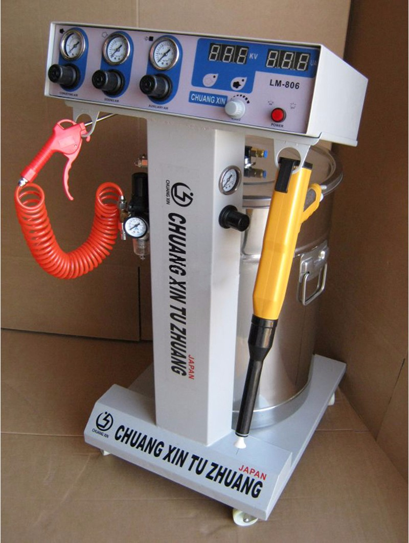 Electrostatic Spraying Powder Spray Coating Machine High Pressure Spraying Machine/ Gun Paint LM-806