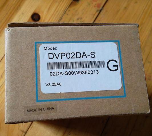 New and original  DVP02DA-S    DELTA  Analog extended module