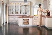 PVC/vinyl kitchen cabinet(LH PV055)