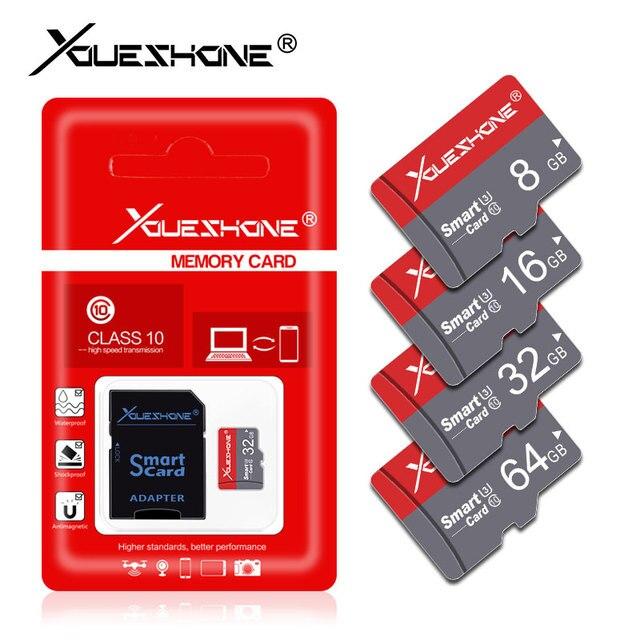 Điện thoại Thẻ Flash Card thẻ nhớ 8 GB 128 GB tarjeta Micro SD 16 GB 32 GB 64 GB Thẻ nhớ cổng USB Thẻ TF Tặng Adapter